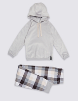 Marks and Spencer Hooded Long Sleeve Pyjamas (7-16 Years)