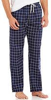 Michael Kors Logo Check Woven Pajama Pants