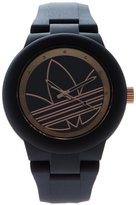 adidas ADH3086 Black & Rose Gold-Tone Watch