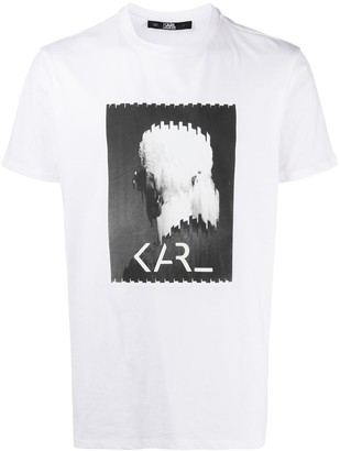 Karl Lagerfeld Paris Legend logo T-shirt