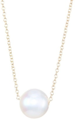 Zoë Chicco 14K Yellow Gold Threaded 8MM Freshwater Pearl Choker Necklace