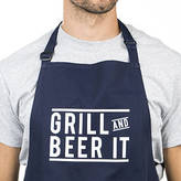 Ellie Ellie 'Grill And Beer It' Men's Apron