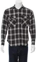 R 13 Plaid Flannel Shirt