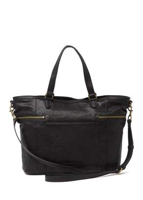 Lucky Brand Kean Leather Shoulder Bag Tote