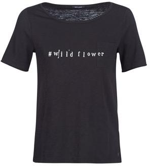 Marc O'Polo CARACOLIXE women's T shirt in Black