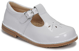 Citrouille et Compagnie MIDINETTE girls's Shoes (Pumps / Ballerinas) in White