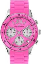 Jacques Lemans Rome Sports 1-1587I 37mm Stainless Steel Case Silicone Mineral Women's Watch
