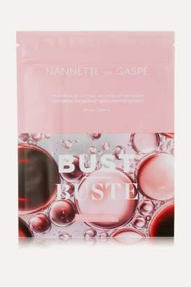 Nannette De Gaspé de Gaspe - Plumping & Lifting Techstile Bust Masque X 3 - Colorless