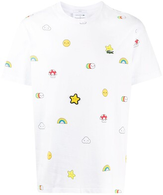 Lacoste x Friends With You all-over print T-shirt