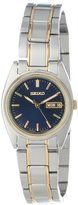 Seiko Women's SXA120 Functional Two-Tone Stainless Steel Watch