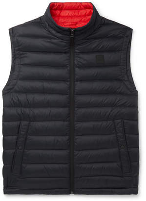 HUGO BOSS Croma Slim-Fit Quilted Shell Down Gilet