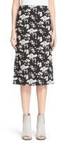 Zero Maria Cornejo 'Rai' Lotus Jacquard Skirt