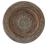 Southern Living Nito Basketweave Round Charger
