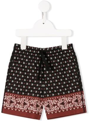 Dolce & Gabbana Kids Bandana print shorts