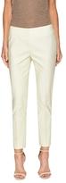 Lafayette 148 New York Stanton Cotton Side Zip Skinny Pant