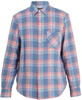 Rag & Bone Beach plaid cotton-flannel shirt