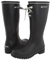 Tretorn Sofiero Rubber Rain Boot - Wide Calf (Black) - Footwear