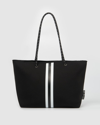 Miz Casa and Co - Women's Black Tote Bags - Byron Neoprene Tote Bag - Size One Size at The Iconic