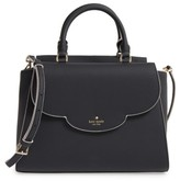 Kate Spade Leewood Place Makayla Leather Satchel - Black