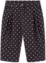Dolce & Gabbana Girl carrot fit cropped pants