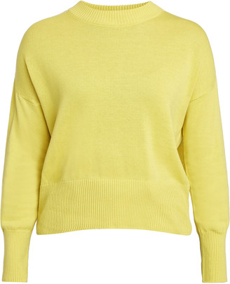 People Tree Charlotte jumpers - m | organic cotton | yellow