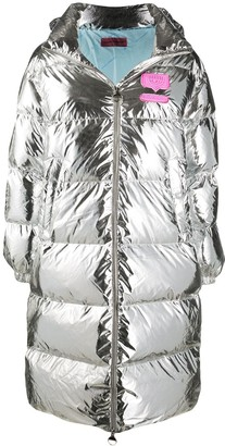 Chiara Ferragni Metallic Padded Coat