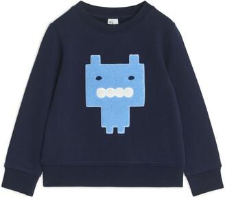 Arket Monster French Terry Sweatshirt