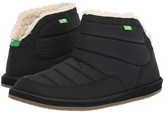 Sanuk Puff N Chill (Black) Men's Shoes