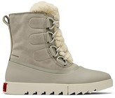 Thumbnail for your product : Sorel Joan of Arctic Next Lite Shearling-Trimmed Suede Boots