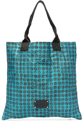 10 Corso Como Geometric Print Tote Bag