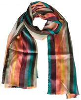 Paul Smith Fringed Trim Scarf
