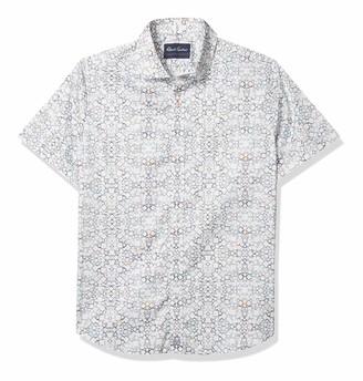 Robert Graham Men's Caldwell S/S Woven Shirt