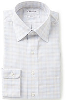 Daniel Cremieux Non-Iron Fitted Classic-Fit Spread-Collar Striped Dress Shirt