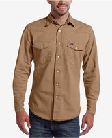 Wrangler Men's Authentic Western Style Long Sleeve Shirt