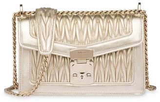Miu Miu Miu Confidential matelassé leather shoulder bag
