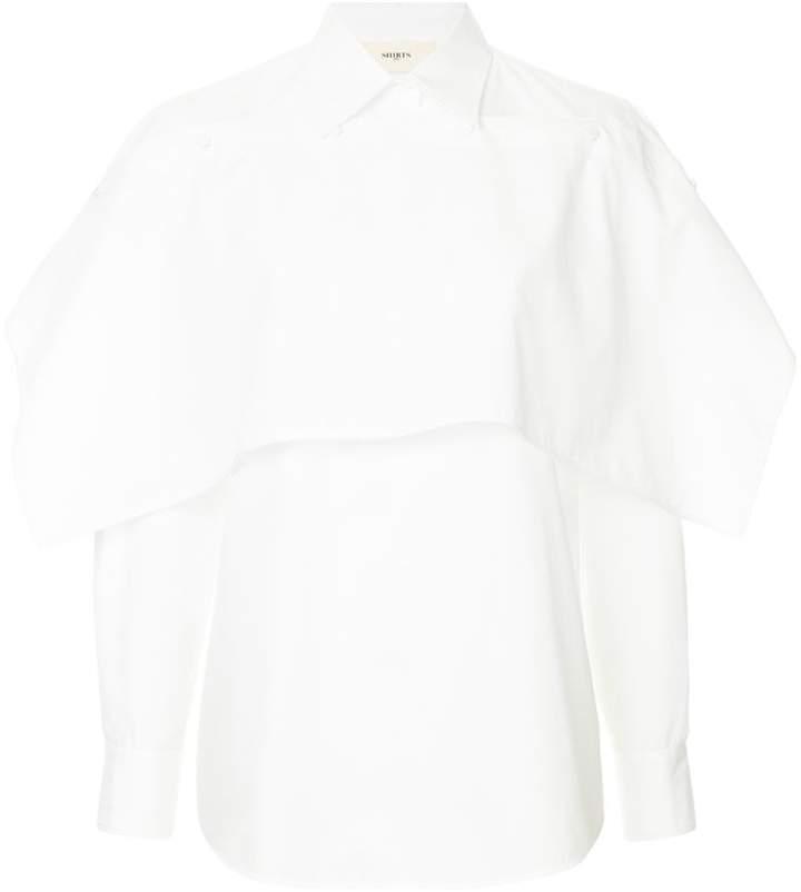 Ports 1961 layered button-down shirt