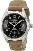 Hamilton Men's H70505833 Khaki Field Analog Display Automatic Self Wind Brown Watch
