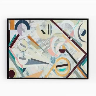 west elm Framed Canvas Print - Modern Deco