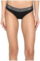Emporio Armani Visibility Stellar Cotton Brief Women's Underwear