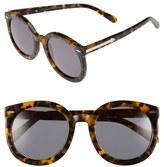 Karen Walker Women's 'Super Duper Strength' 55Mm Retro Sunglasses - Black