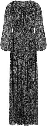 Stella McCartney Polka-dot Silk-blend Chiffon Gown