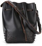Tod's drawstring bucket shoulder bag