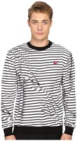 McQ by Alexander McQueen Clean Crew Neck Men's Long Sleeve Pullover
