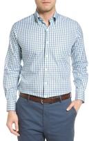 Peter Millar Men's Regular Fit Crisp Pane Sport Shirt