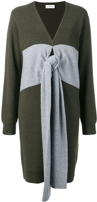 Carven Panelled Tie Jumper Dress