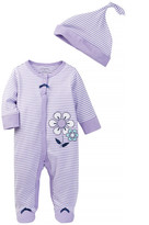 Offspring Lavender Footie (Baby Girls)