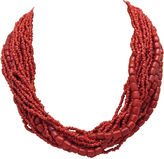 One Kings Lane Vintage Faux-Coral Collar Necklace