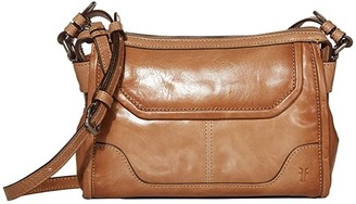 Frye Mel Crossbody (Camel) Cross Body Handbags