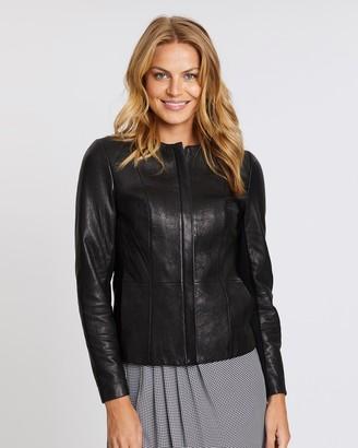 David Lawrence Maddi Leather Jacket
