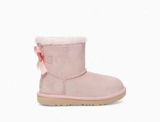 UGG Mini Bailey Bow II Shimmer Boot